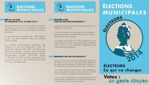Read more about the article Elections Municipales 2014